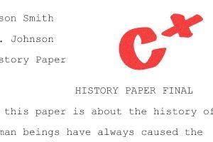 C is a GOOD grade